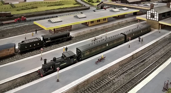 LNER K3 and SR O2 at Chinley